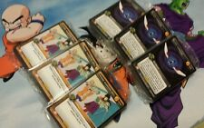 Dragon Ball Z Starter Deck Play Set! Panini DBZ TCG 360 cards total!