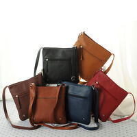 2015 Women Leather Handbag Satchel Cross Body Shoulder Bag Ladies Messenger Bag