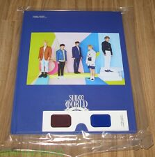 SHINee WORLD IV 4 in SEOUL 2015 CONCERT SM OFFICIAL GOODS 3D PHOTO BROCHURE NEW