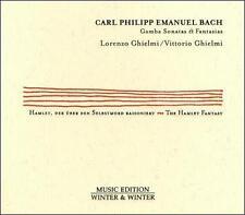 C.P.E. Bach: Gamba Sonatas & Fantasias (CD, Mar-2016, Winter & Winter)