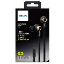 Philips TX2BK/00 High Performance In-Ear Headphones with Microphone - Black