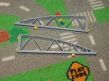 PLAYMOBIL from PlaymorePlaymo airport cargo zone roof truss support parts #4314