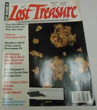 Lost Treasure Magazine Find Placer Gold March 1995 071814R