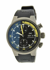 IWC Aquatimer Chronograph Automatic Titanium Watch 3719