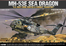 Academy U.S Navy 1/48 MH-53E SEA DRAGON HELICOPTER 12703 NIB