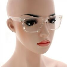 Mens Women CLASSIC VINTAGE RETRO Style Clear Lens EYE GLASSES Transparent Frame
