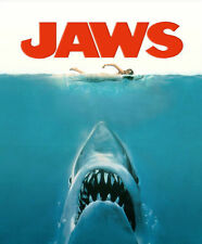 JAWS MOVIE FILM SHARK Photo Poster Print A3 260gsm