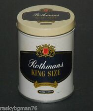 Rothmans cigarette tin