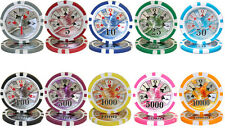 New Bulk Lot 500 Ben Franklin 14g Clay Casino Poker Chips - Pick Chips!