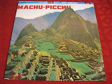 LP MACHU-PICCHU Alejandro Vivanco Jaime Guardia  Orig. SONO RADIO  60er RARITÄT