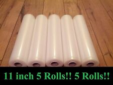 "5[Five]11""x18' rolls for use in all universal FOODSAVER &other Vacuum Sealer bag"