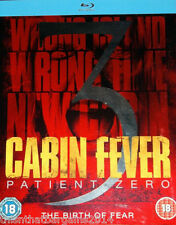 Cabin Fever 3 - Patient Zero (Blu-ray, 2014) 18 Rated
