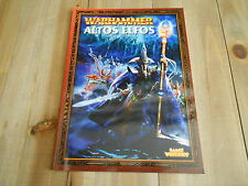 Ejércitos Warhammer FANTASY - ALTOS ELFOS Ed. Revisada 2003 - Games Worksho