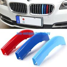PM ///M Front Hood Center Kidney Grille Insert Trim Kit New for BMW F15 X5 2014+