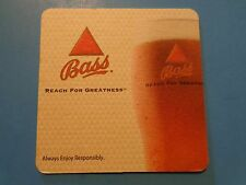 Beer Coaster    Bass - Reach For Greatness - The Endorsements    England Brewery