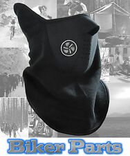 BLACK WINDPROOF MOTORCYCLE MOTORBIKE BIKE HELMET THERMAL SCARF NECK TUBE WARMER