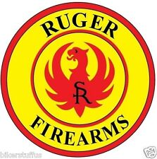 RUGER FIREARMS HELMET STICKER HARD HAT STICKER TOOL BOX STICKER