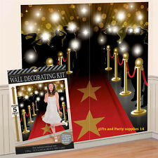 Hollywood Movie Premier Scene Setter Wall Decoration Birthday Party Favor Supply