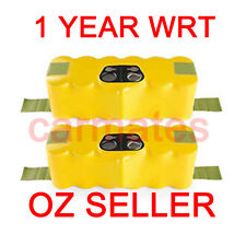 NEW 2 Battery For iRobot Roomba 500 3.0Ah Ni-MH 537 550 560 561 580 1Year WRT OZ
