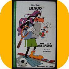 Livre d'activité DINGO AUX JEUX OLYMPIQUES Walt Disney  1978