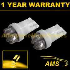 2X W5W T10 501 XENON AMBER 7 DOME LED INTERIOR COURTESY LIGHT BULBS HID IL100401