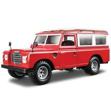 BURAGO  LAND ROVER SERIES 3 1:24 SCALE, DIE CAST MODEL COLLECTABLE