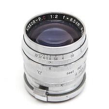 8.5cm 1:2 Nikkor lens for Nikon S rangefinder
