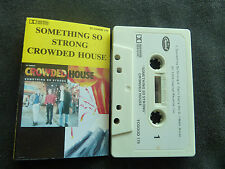 CROWDED HOUSE SOMETHING SO STRONG ULTRA RARE NEW ZEALAND CASSETTE SINGLE! x