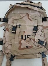 USGI US Army 3 Day Assault Pack Desert Genuine Issue-NEW