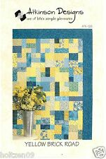 Yellow Brick Road Quilt Pattern * Atkinson Designs * Multiple Sizes included