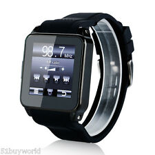 1.54 Inch Smart GSM Mobile Watch Phone Sport Wristwatch with SIM Bluetooth FM US