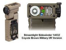 Streamlight Sidewinder Tactical Coyote Brown USMC Military Flashlight 14032 LED