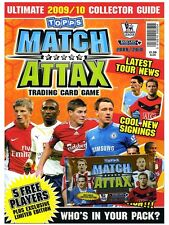 TOPPS MATCH ATTAX TRADING CARD GAME 2009-10 - ULITIMATE COLLECTORS GUIDE