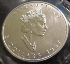 1997 Canada silver Maple Leaf RCM sealed $5 1 oz. .9999 Fine Silver Round