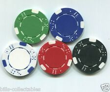 5 color set 11.5 gram Dice poker chips samples set #10 type 2