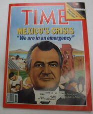 Time Magazine Mexico's Crisis President Miguel December 1982 081115R