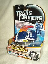 Transformers Action Figure DOTM Robot Heroes Activators Topspin 4-5 inch