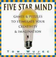 Five Star Mind: Games & Puzzles to Stimulate Your Creativity & Imagination, Wuje