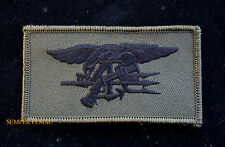 US NAVY SEAL TEAM 1 2 3 4 5 6 8 10 TRIDENT OD HAT FLAG PATCH BIN LADEN UDT USS