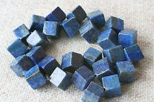 Lapis Lazuli-Strang (Würfel 12 mm) Q-0486/E