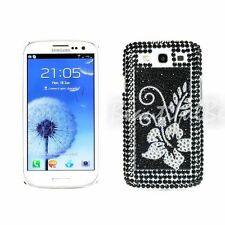 Diamond Flowers Bling Crystal Case Cover For Samsung Galaxy S3 SIII i9300