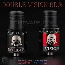 DOUBLE VISION RDA - 100% AUTHENTIC COMPVAPE - COMES WITH 2 DECKS & 2 AFC RINGS