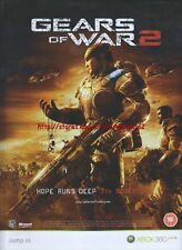 "GearS Of War 2 ""November 7th"" 2008 Magazine Advert #4555"