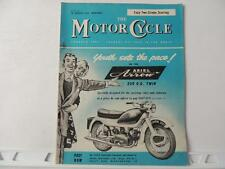 The Motorcycle Magazine Jan 28 1960 Triumph Norton BSA Matchless AJS Ariel L427