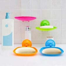 Strong Super Vacuum Suction Soap Box Plastic Soap Holder Bathroom Soap Dishes