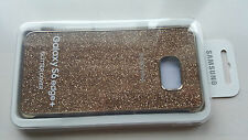 Official Genuine Samsung Galaxy S6 Edge+ Plus Glitter Protective Cover GOLD