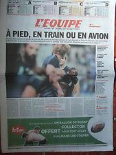 L'Equipe du 25/9/2007 - Coupe du monde de rugby - les grands du Mondial