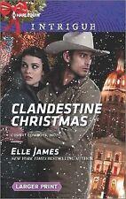 Clandestine Christmas (Covert Cowboys, Inc.): James, Elle
