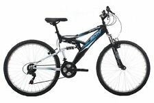 Sport Mountain Bike 18 Inch Adults Mens Bicycle Dual Suspension Active Fitness
