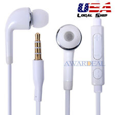 3.5 Mm Jack Earbud Handfree Universial Earphone Mic Volume Control For Sams
